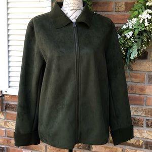 Coaco New York dark green jacket size M